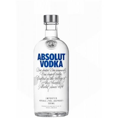 ABSOLUT VODKA BLUE 0.50L
