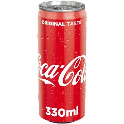 Bautura racoritoare Coca-Cola la doza 0.33l