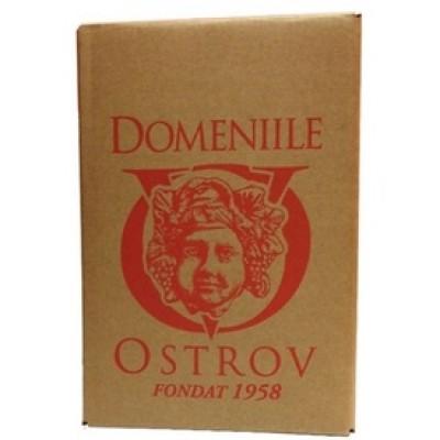 Domeniile Ostrov Rosu Demisec Bag In Box 20l