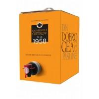 Domeniile Ostrov Chardonnay Demisec Bag in Box 10l