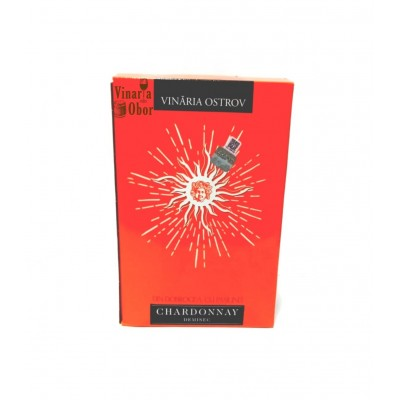 Domeniile Ostrov Chardonnay Demisec Bag in Box 3l