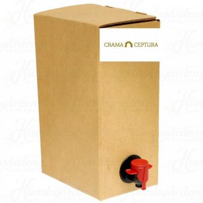 Crama Ceptura Cabernet Sauvignon Rosu Demisec Bag In Box 10l